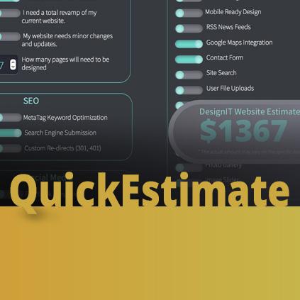 Quick Estimate - Adobe Muse Widget